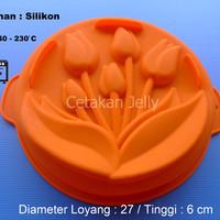 Cetakan Puding / Kue Tulip Pan II