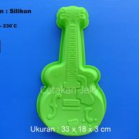 Cetakan Kue / Puding Big Guitar