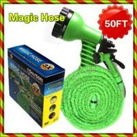 Jual Selang Magic Xhose 15Meter 50Feet / Selang Air + Kepala Semprot Elasti Murah