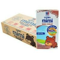 Jual Susu Ultra Mimi Chocolate 125 ml x 40 kotak - coklat Murah