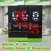 BARANG BAGUS BATERAI APPLE IPHONE-6 / 6G DOUBLE POWER PROTECTION GARAN