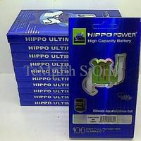 MURAH Batere Hippo Xiaomi Redmi Note 2 (3850mAh - Bm45) Double Power O