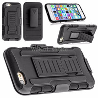 TERBARU iPhone 6/6S Future Armor w/ Holster Case ( Dual Layer Case ) K