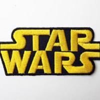 Patch Iron Patch StarWars Logo 6x3cm