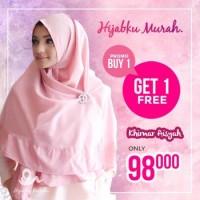 Buy 1 get 1 !! khimar aisyah/ hijab instant/ kerudung Berkualitas