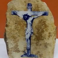 Batu Fosil Kayu Foto Yesus