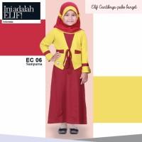 Elif EC 06 Sampurna / Gamis + Jilbab Anak