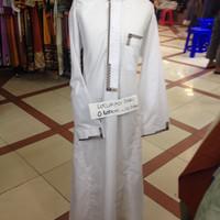 Jubah Gamis Arab Anak-anak model bordir merek NABILA Umur 4,6,8 Tahun