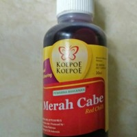 Pewarna Merah Cabe+Koepoe-Koepoe 30ml+Untuk Makanan dan Minuman