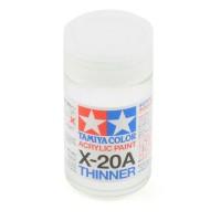 Tamiya #81030 Acrylic Thinner 46ml X-20A