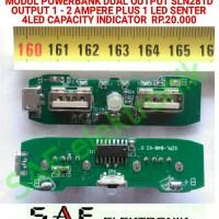 harga Sm281d Modul Power Bank Board Dual Output 4led Capacity Indicator Tokopedia.com