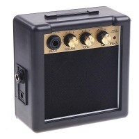 Amplifier Mini Gitar Elektrik 3W - PG-3 - Black