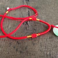 Kalung Tali Merah / Liontin Giok
