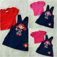 overall denim lolly