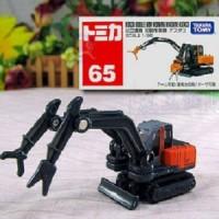 Tomica No 65 Hitachi Miniatur Diecast Alat Berat Takara Tomy Reguler