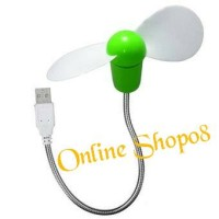 MINI FAN USB FLEXIBLE 25CM METAL TANGKAI