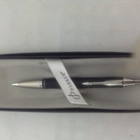 Pulpen Parker black silver plated ( type IM ) original