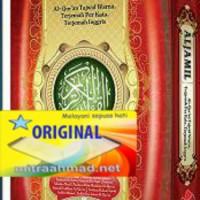 Al Jamil Al Quran Terjemah Per Kata Tajwid Inggris A5 (3 Bahasa) /CBA