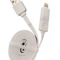 harga Xiaoyi 2in1 Lightning & Micro Usb Data Cable For Ios And Android Tokopedia.com