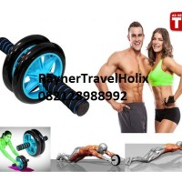 Jual Double Wheel Exerciser / Roda Fitness/fitness/yoga/senam/aerobic/otot Murah