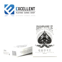 Bicycle Deck White Ghost Edition Playing Card