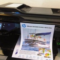 Printer HP Officejet 7612 (A3) Resmi