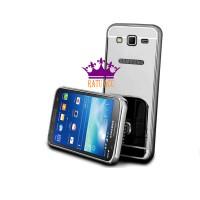 Terlaris!case Metal Bumper Mirror Samsung Galaxy E5 Series