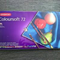 Derwent coloursoft 72 colour (not pastel pencils)