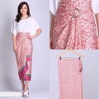 Jual Rok Batik Kain Lilit Cendol Pink Murah