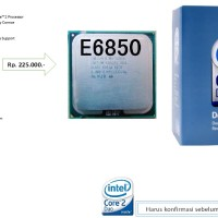Processor Intel Core 2 Duo E6850 3.0GHz LGA 775