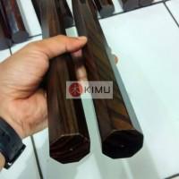 KIMU Dark Phoenix Nunchaku (double stick sonokeling) atau Ruyung 30cm