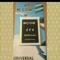 Baterai M-COM Hp Asus Zenfone 6 inch Double Power 6000mAh