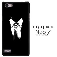 Anonymous Black Suite 0221 Casing for Oppo Neo 7 | A33 Hardcase 2D