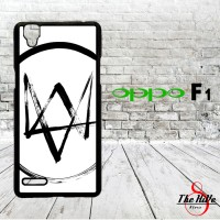 Games Series_ Wathc Dogs Logo 0076 Casing for Oppo F1 | A35 Hardcase 2