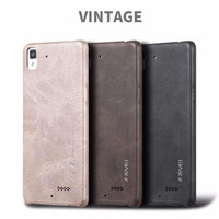OPPO R7/R7S R7 S Leather Back Cover Hard Soft Case X-Level Vintage Ser
