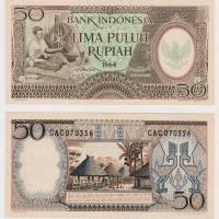 harga Uang kuno Rp.50 Pekerja Tahun 1964 ( mahar/ koleksi ) Tokopedia.com