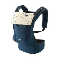 gendongan Aprica Baby Carrier Colan Hug Original Kingdom Navy