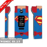 Garskin Vape Wismec RX 2/3 Superman Premium Grade