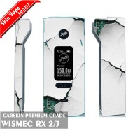 Garskin Vape Wismec RX 2/3 Crack Premium Grade