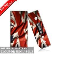 Garskin Vape Cloupor Mini British / England Flag Premium Grade