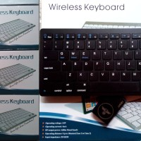 Bluetooth Wireless Keyboard for Mac iOS Android Tablet PC