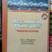 """Accounting Principles """"Pengantar Akuntansi"""" edisi 7 buku 2"""