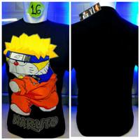 harga Kaos Combed Hitam Doraemon Naruto Anime Manga Komik Baju Distro Shirt Tokopedia.com