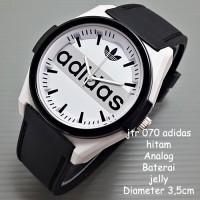 Jam Tangan Wanita   Jam Tangan Cewek / Adidas Putih Hitam