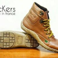sepatu boots pria kickers tan premium4