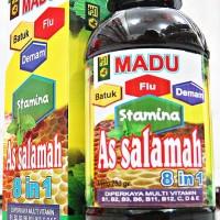 MADU ASSALAMAH 8 IN 1   MADU BATUK FLU DEMAM STAMINA   280gr