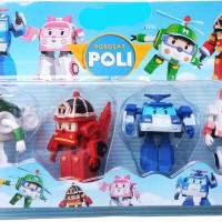 Robot Poli 4 pcs Packing Mika(827)