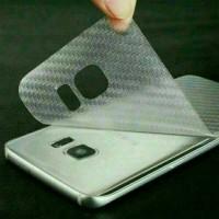 Screen Protector 3D Clear Carbon Fiber Samsung A3 2016/ Berkualitas