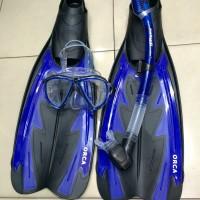 AlatSelam American Scuba paket Fin,Kacamata,Snorkel DRY Tidak MasukAir