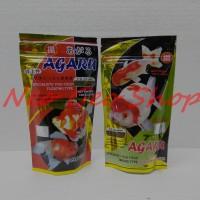 makanan pakan ikan koki agaru 100gr floating / sinking type
